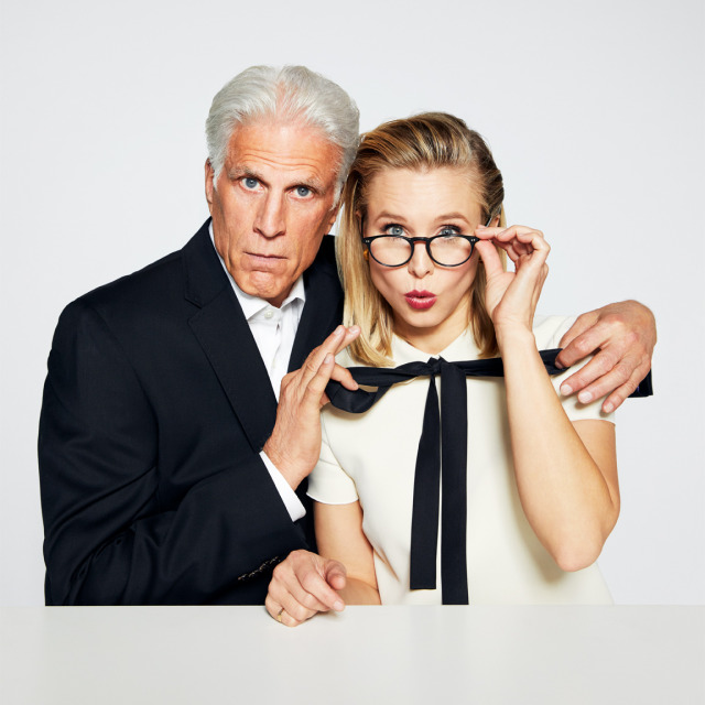 Celebrity: Kristen Bell and Ted Danson gallery