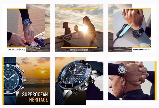 Client: Breitling BTS gallery