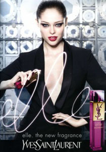 Coco Rocha for YSL gallery
