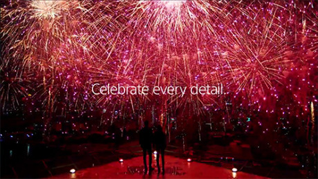 "Sony Bravia HD TV ""Celebrate Every Detail"" gallery"