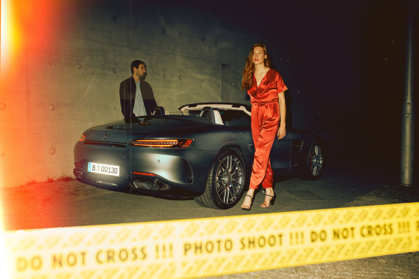 NIGHT OUT – BE FAST OR BE LAST | AMG GT C ROADSTER