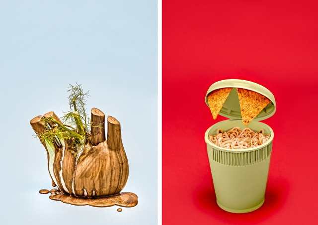 Beobachter Magazine I Good vs. Bad Food      gallery