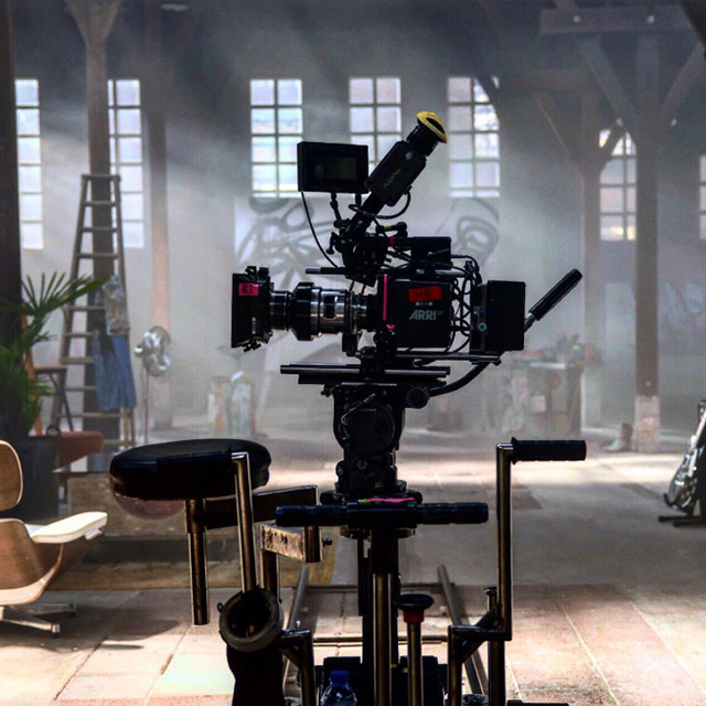 Image provided by Amsterdam Production Services - Behind the scenes for Lexus