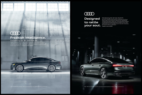 Client: Audi A6 & A7 gallery