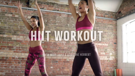 HIIT Workout with Maya Jama & Adrienne for Adidas gallery