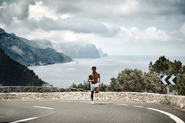 Running and active lifestyle apparel shoot for Castore Sportswear - Spain gallery