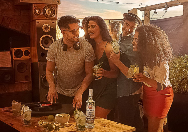 Bacardi European Campaign gallery