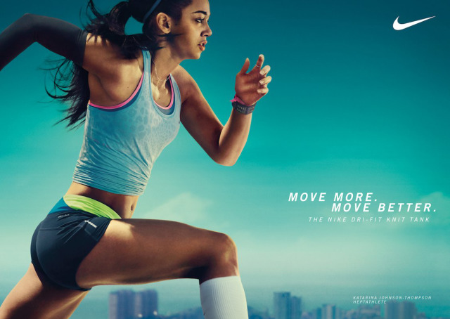 Client: Nike Woman's Training gallery