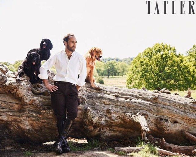 Photographer: Matt Hind for Tatler feat. James Middleton gallery