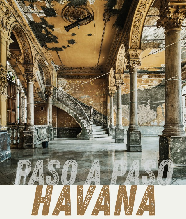 Poster image for 2018 Paso a Paso exhibition on Havana gallery