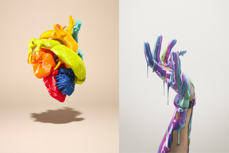 Left - Photo: Hamin Lee / Right - CGI: Pierre Bourjo gallery