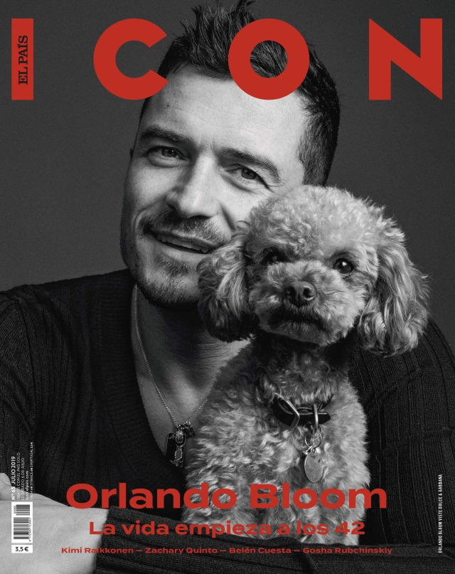 Orlando Bloom for Icon Magazine gallery
