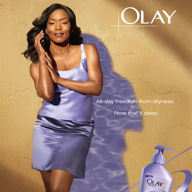 Actress Angela Bassett for Olay gallery