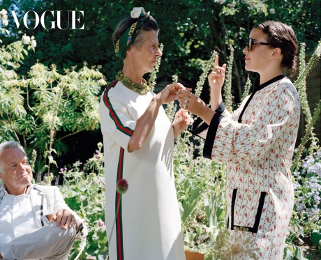 Vogue X Gucci – 25 ways to wear Gucci gallery