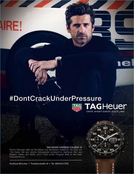 Campaign: TAG Heuer Don't Crack Under Pressure gallery