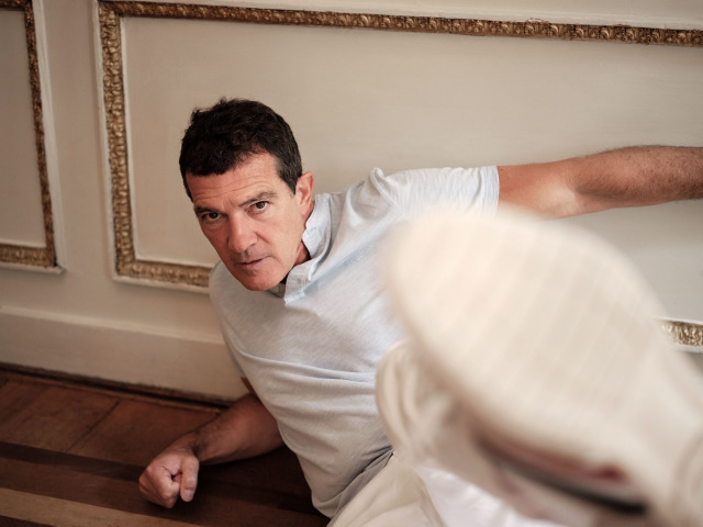 Antonio Banderas for Sunday Times Culture gallery