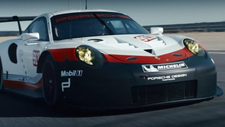 Spearhead. The new 911 RSR. gallery