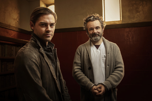 Tom Payne and Michael Sheen (Prodigal Son) gallery