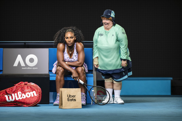 Client: Uber Eats - Serena Williams & Magda gallery