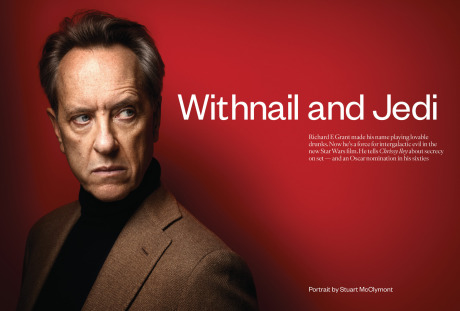 Photographer: Stuart McClymont for The Sunday Times feat. Richard E Grant gallery