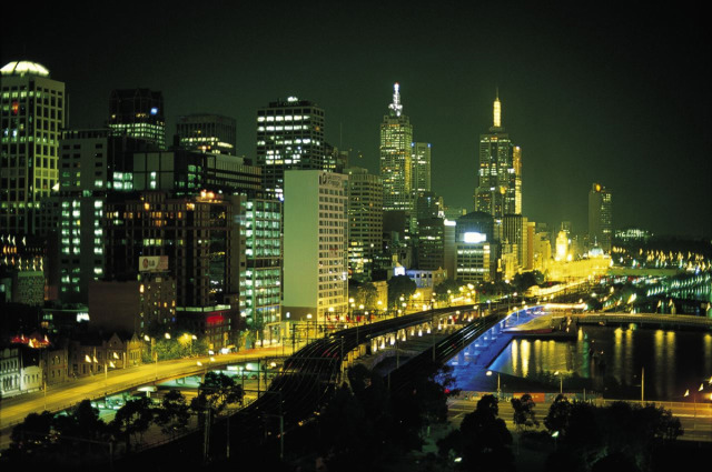 Night, Melbourne Cityscape gallery