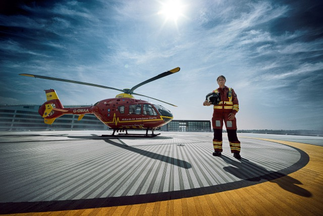 Air Ambulance - ProBono project for the MAA charity gallery