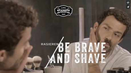 Wilkinson Classic - Shaving Tutorial gallery