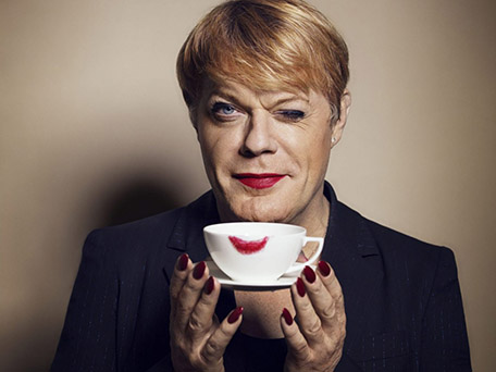 Portraiture & Celebrity Spotlight Cover by Hamish Brown, rep. by JSR - feat. Eddie Izzard