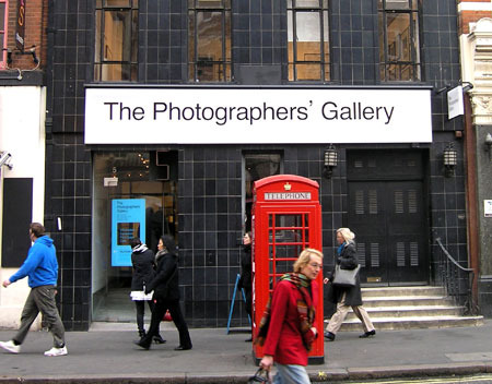 The Photographers' Gallery in Great Newport Street gallery