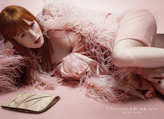 Model: Karen Elson by Michael Thompson - Client: Donna Karan gallery