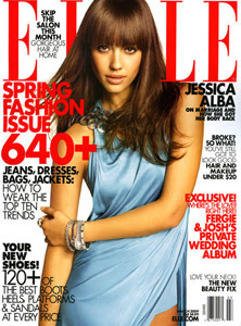 Photo: Jessica Alba for Elle by Carter Smith gallery
