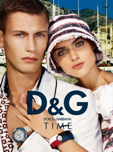 Model: Sebastian Lund for D&G by Mario Testino gallery
