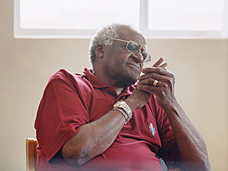 COVER IMAGE: DESMOND TUTU BY RÜDIGER NEHMZOW