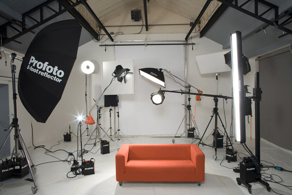 Profoto's equipment presentation gallery