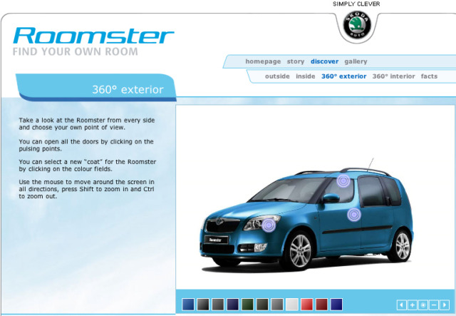 Client: Skoda Roomster gallery