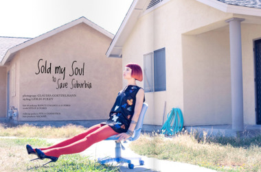 Client: Chaos Mag - Sold my Soul to Save Suburbia gallery