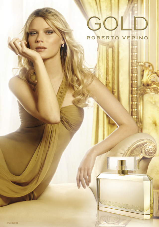 Client: Gold, Perfume For Roberto Verino gallery