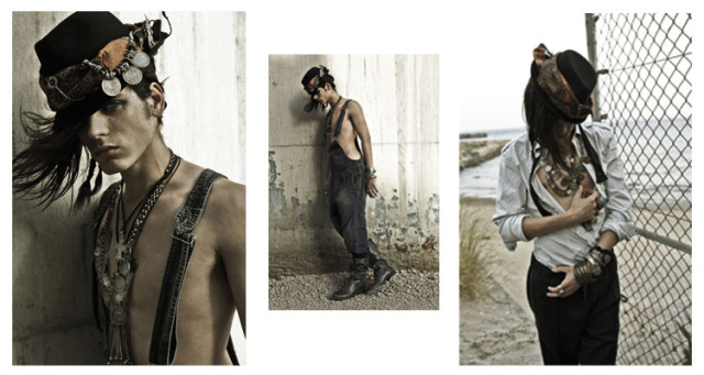 Advertorial Diesel Black Gold for Vanidad Magazine gallery