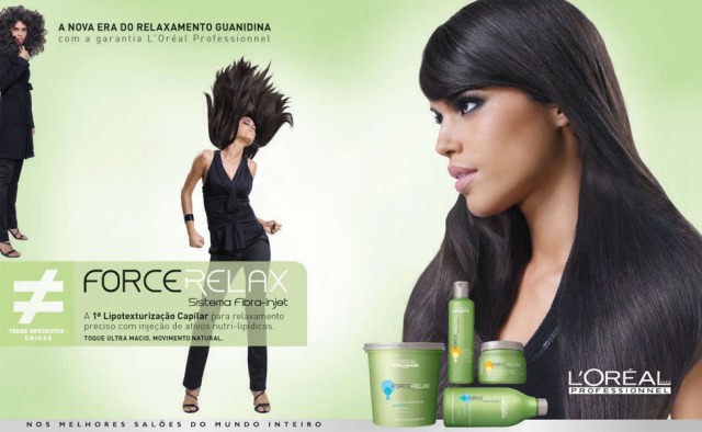 Campaign: Force Relax – L'Oreal – Advertising gallery