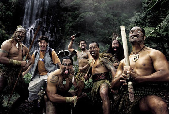 Photo: Maori Warriors by Mat Blamires gallery
