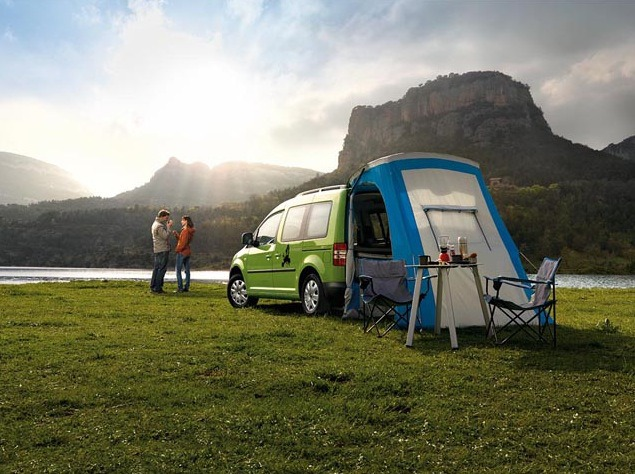 Campaign: VW Caddy gallery