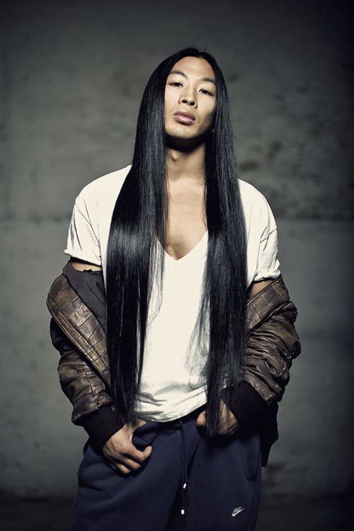 Sexy dickforlily asian long hair