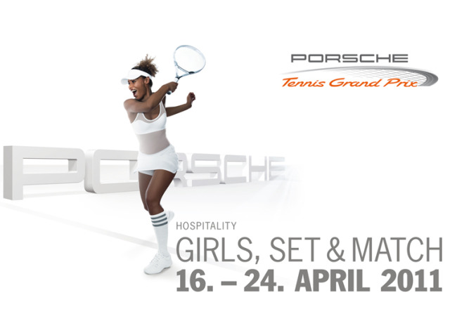 Porsche Tennis Grand Prix Key Visuals für 2011 gallery