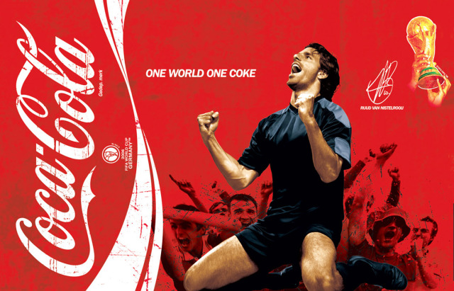 Van Nistelrooy for Coca-Cola gallery