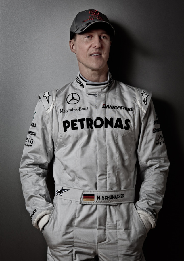 Michael Schumacher for Manager Magazin gallery