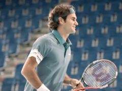Roger Federer for Credit Suisse gallery