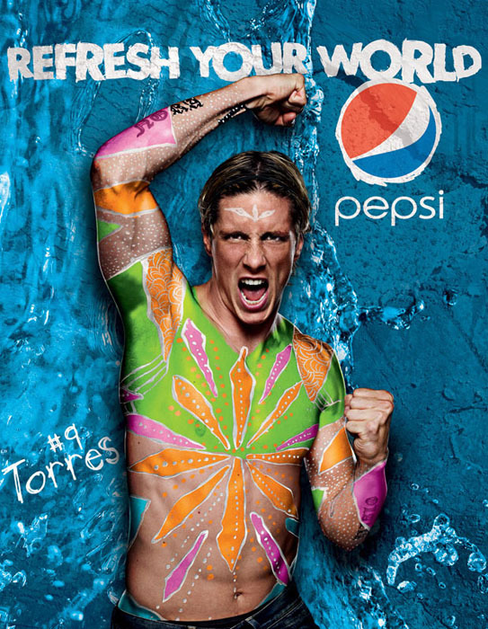 Pepsi Global Press Campaign gallery