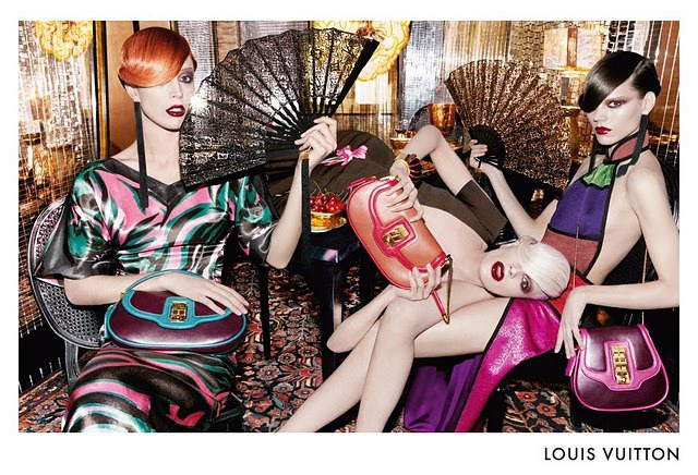 Steven Meisel for Louis Vuitton Advertising gallery