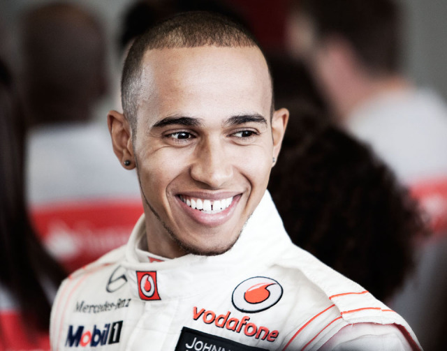 Lewis Hamilton for Santander gallery