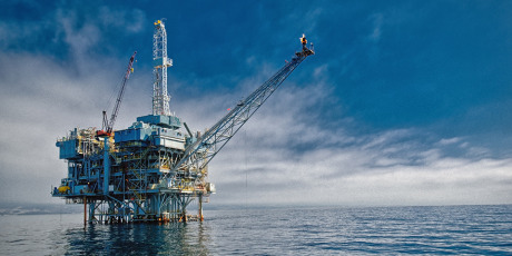 Title: Offshore Oil & Gas Production Platform gallery